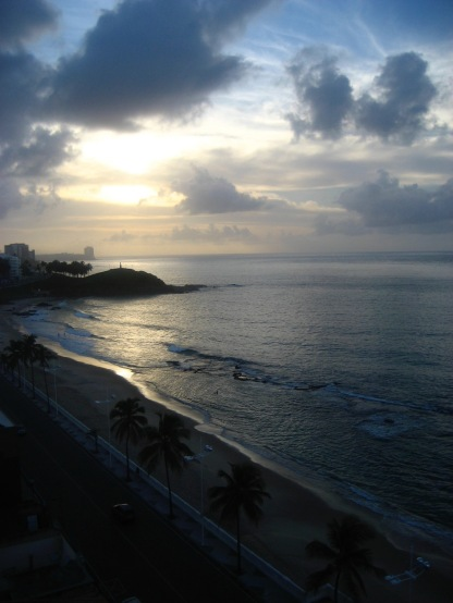 Sunset in Salvador, Barra neighborhood