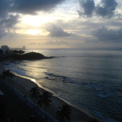 Sunset in Salvador, Barra neighborhood
