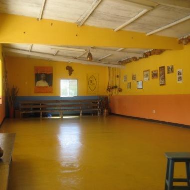 Inside Grupo Nzinga's studio