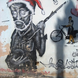 Just some of the street art around hte city