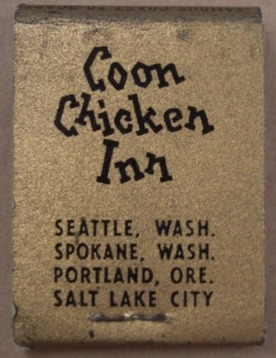 Coon Chicken Matchbook