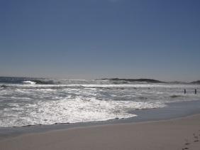 the beach at yzerfontein