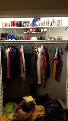 What's left in my closet