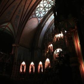Inside of Notre Dame Basilica for Aura Basilica