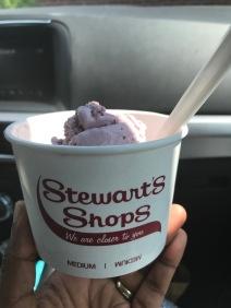 Black Raspberry Ice Cream, still delicious!