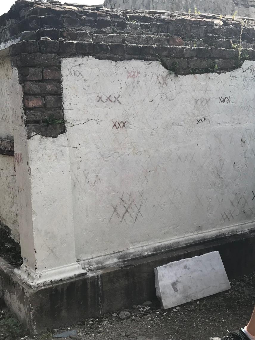 Fake Marie Laveau Tomb