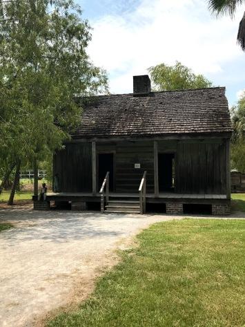 Original slave cabin